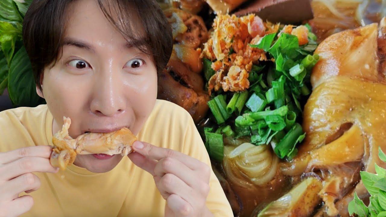 [359] เกาหลีหัวใจนักกิน ทำก๋วยเตี๋ยวไก่มะระ สูตรอร่อยนะจ๊ะ ไม่อยากจะบอก !! : โอปป้า อยู่ที่บ้านนอก