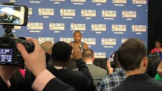 OKC Thunder - Chris Paul on honoring Kobe Bryant in the NBA All-Star Game