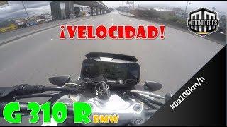 DE 0 a 100km/h en BMW G 310 R | Motomoteros