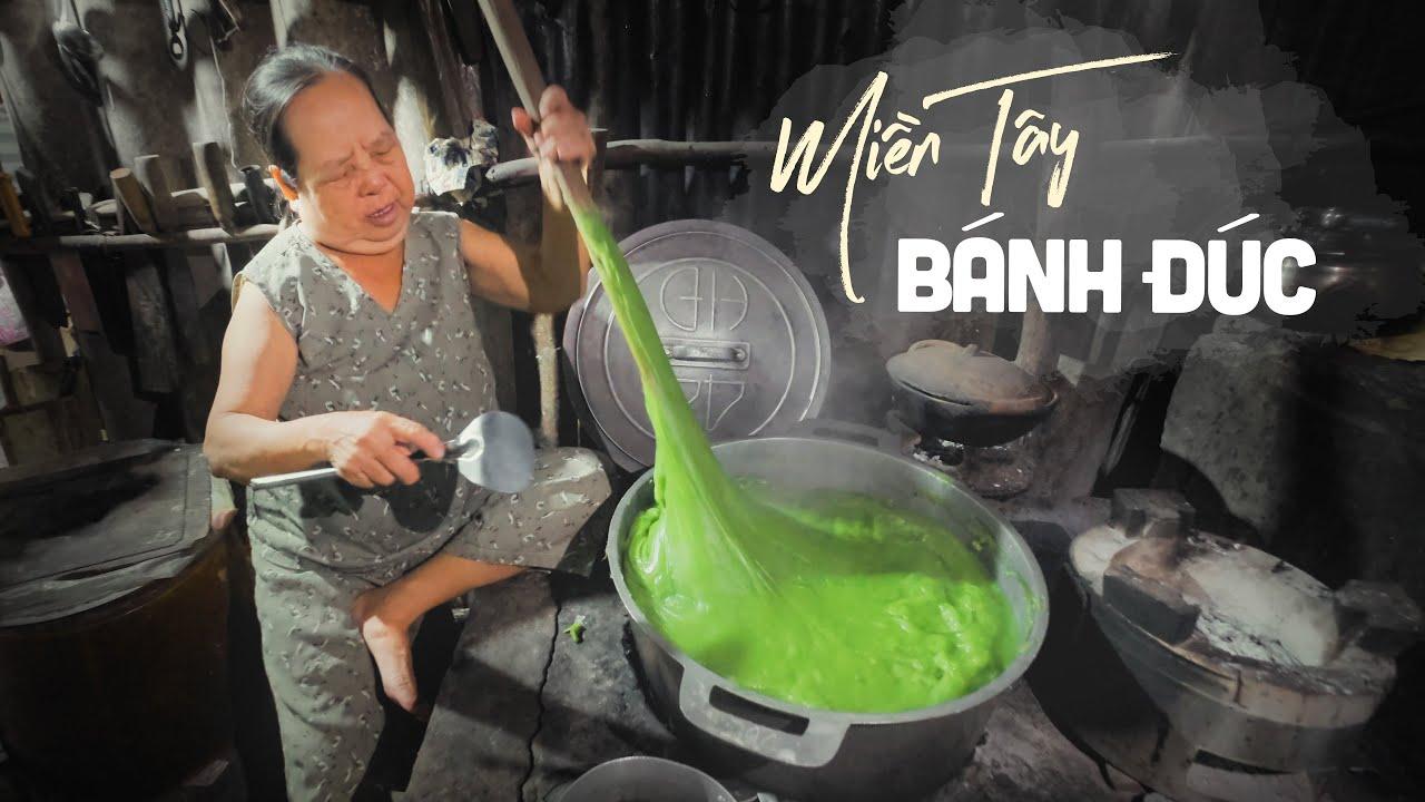 Bánh đúc thủ công suốt 50 năm đỏ lửa ở Miền Tây |Du lịch ẩm thực Đồng Tháp Việt Nam