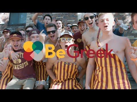 Be Greek | University of Minnesota