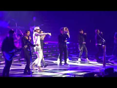 Florida Georgia Line with Backstreet Boys God, Your Mama, and Me 10132016