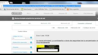 Error Wii 51330 router telefonica aw4062
