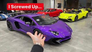 THIS LAMBORGHINI AVENTADOR SV IS MY BIGGEST REGRET...  *WORST DECISION EVER*
