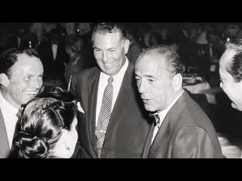Humphrey Bogart and Frank Sinatra at Las Vegas Sands 3rd Anniversary 1955 Photos