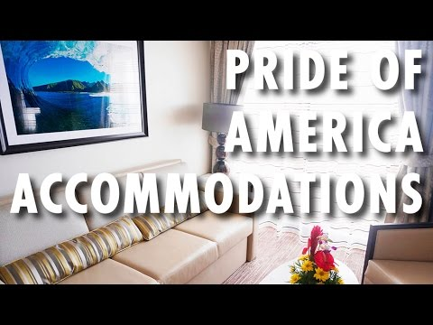Pride of America Tour & Review: Accommodations ~ Norwegian Cruise Line ~ Cruise Ship Tour & Review