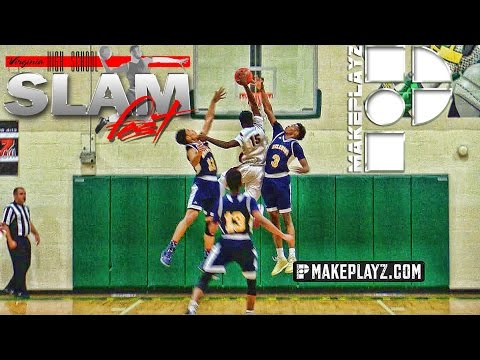 Travis Ingram Posterizes Two Defenders at the MakePlayz High School Invitational!