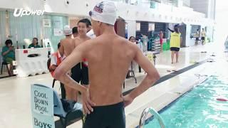 upower 【學界D3游泳】六舊腹肌怎麼練?加拿大國際學校泳手蔡祈志:日積月累而成