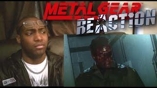 METAL GEAR SOLID V THE PHANTOM PAIN Trailer [E3 2015] REACTION!