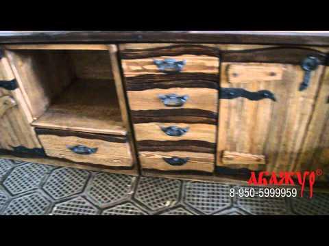 Cмотреть видео Стул под старину, кухня под старину
