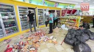 61-year-old crashes into petrol station's convenience store