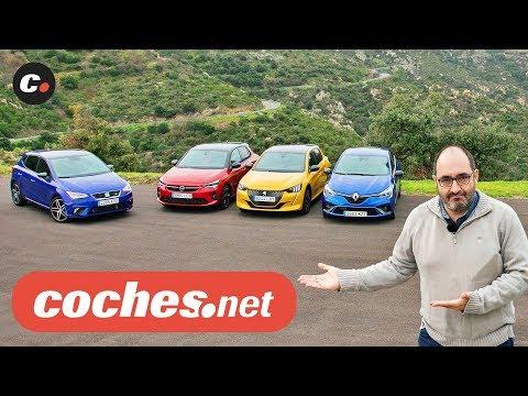 Comparativa Compactos B 2020: Seat Ibiza, Opel Corsa, Peugeot 208, Renault Clio   Prueba Coches.net