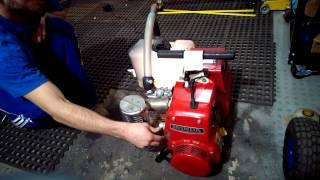 Gas vapor generator experiment 1.1