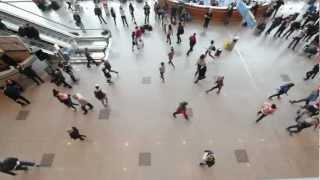 Флэшмоб в Домодедово смотреть всем танцы аэропорт