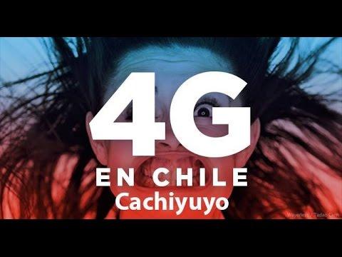 Movistar Chile 4G LTE Velocidad (Cachiyuyo)