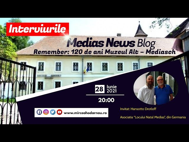 Hansotto Drotloff la Interviurile Medias News Blog