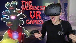 THE STRANGEST VR GAMES EVER MADE
