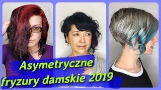Top 20 najlepszy 💖 asymetryczne fryzury damskie 2019