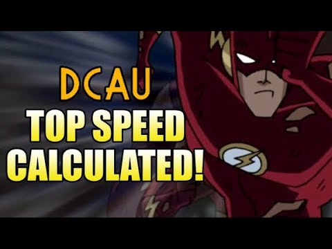 How Fast is the DCAU Flash?