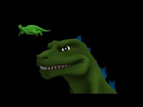 Hanna Barbera Godzilla (Intro Recreation)