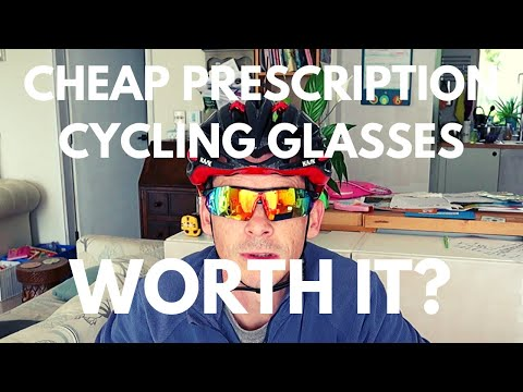 How Good Are £100 Prescription Cycling Glasses? ¦ Unboxing The Eyepod Hawk Sports Glasses