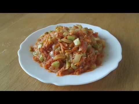Простой рецепт очень вкусной икры из кабачков.