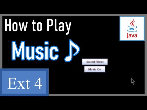 How to Play Audio Files (Music) - Java Game Development Extra 4