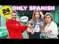 SPEAKING ONLY SPANISH for 24 Hours Challenge **THE ROYALTY FAMILY** | Piper Rockelle
