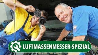 Luftmassenmesser - So prüft man den LMM richtig | Luftmassenmesser reinigen statt tauschen?