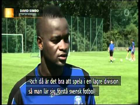 TV4 about the Sierra Leonean boom in Swedish football