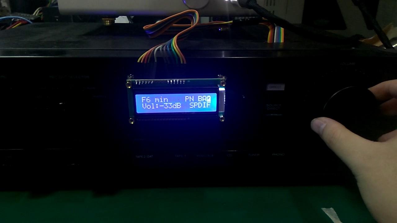 Soekris DAM 1121 or 1021 R2R dac's MCU control