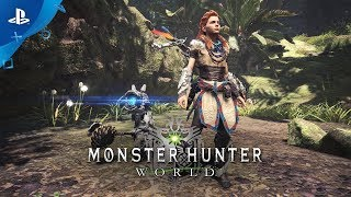 Monster Hunter: World - Updated Horizon Zero Dawn Gear | PS4