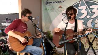 """Okkervil River - """"Pink-Slips"""" and """"Down Down The Deep River"""" (acoustic) - ACL 2013"""
