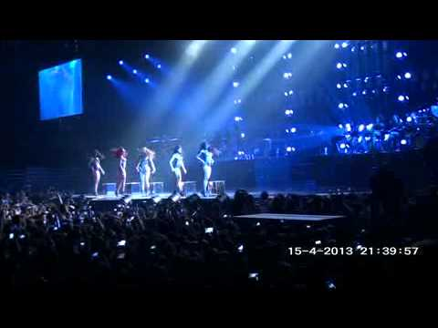 HD Beyonce-Dance for You LIVE Beograd Serbia Mrs Carter World Tour Her First Show