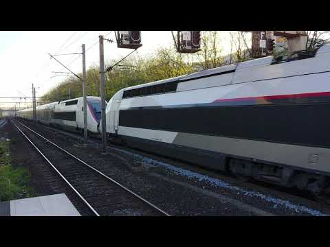 TGV duplex en provenance de Paris-Nord