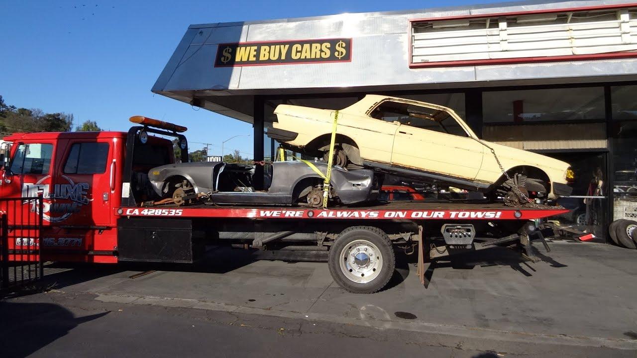 Scrap Cars Scrapped Haul Away Junkyard Fiat 2000 Spider Parts ...