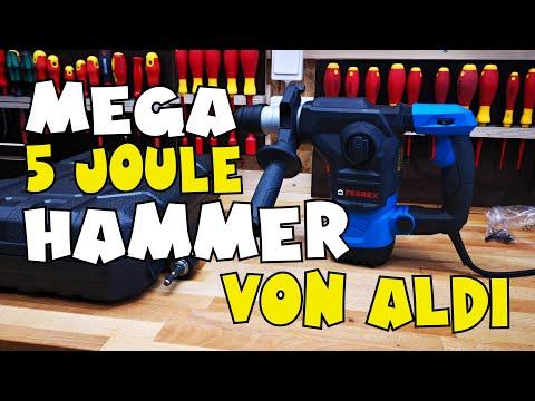 aldi---ferrex®-bohrhammer-1500-watt---5-joule---vorstellung-und-einsatz