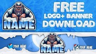 Free Fortnite Premium Logo + Banner Template | mascot logo | youtube logo yapımı #17