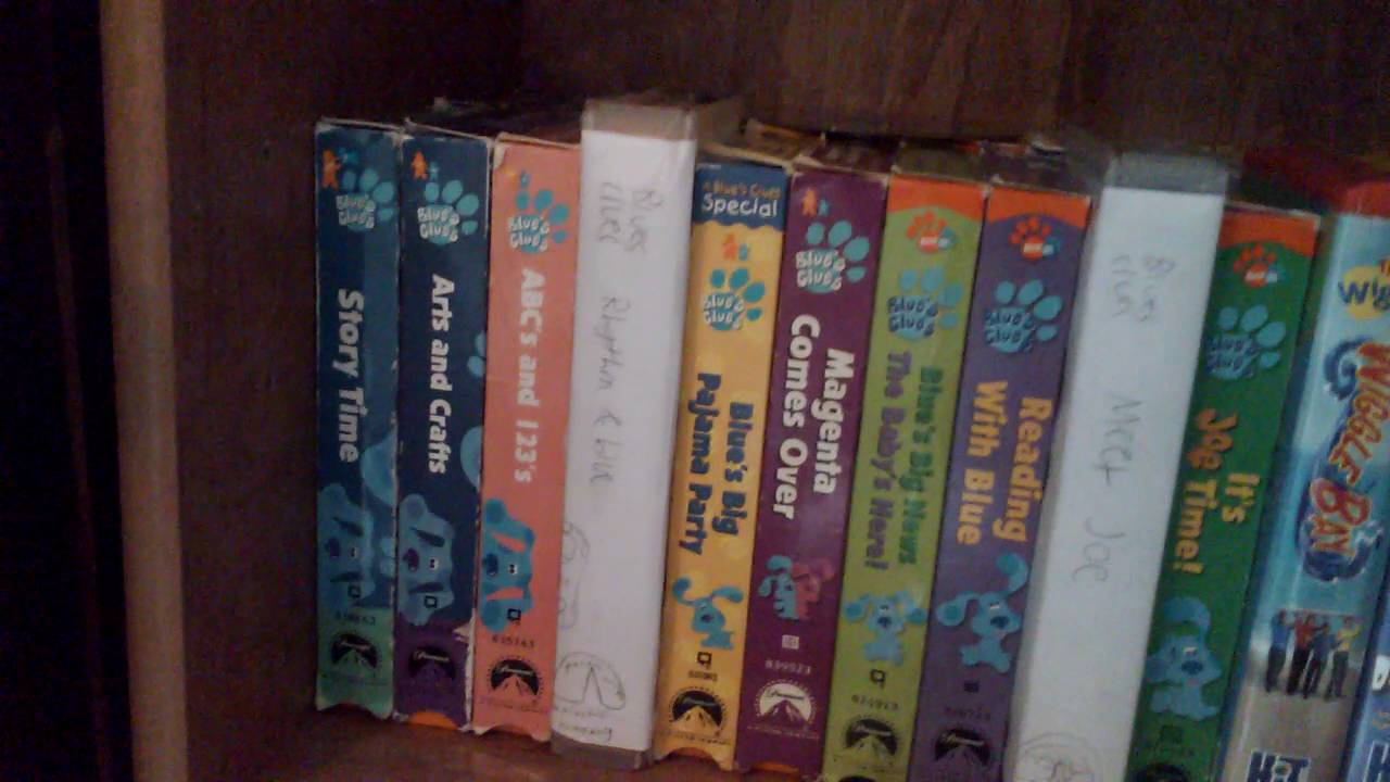 overview of my vhs collection  special summer edition
