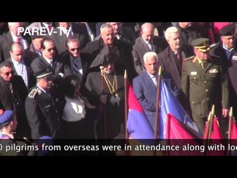 Armenian Christmas Day Bethlehem 2017
