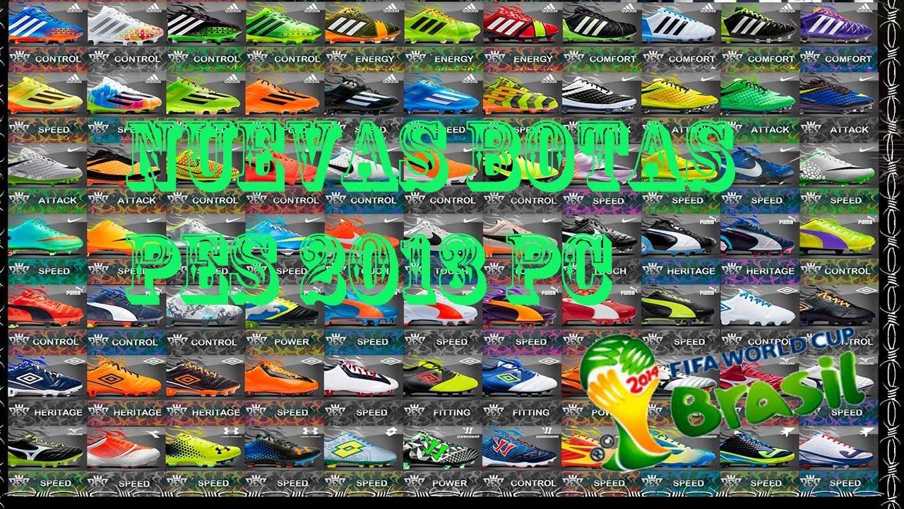 maxresdefault  pack de botas pes 2013 pc agosto bd3315cbe87b1