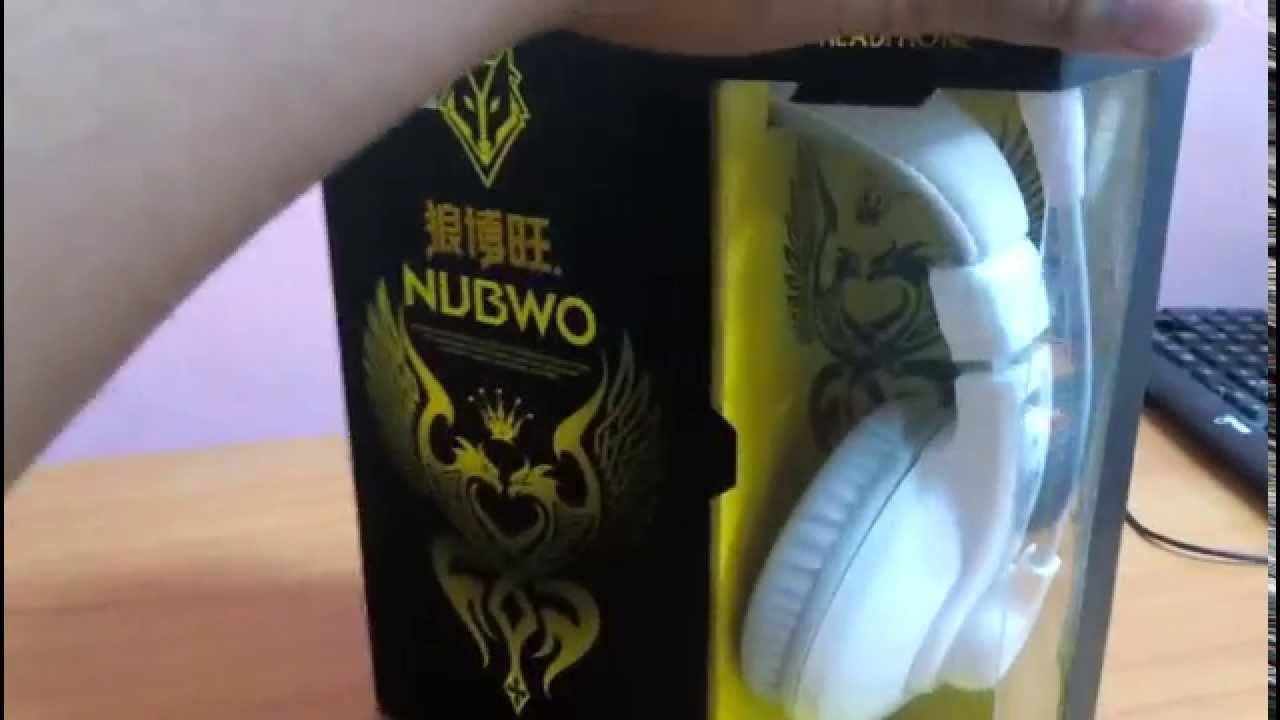 Nubwo No 550 Youtube Headshet Stereo No040