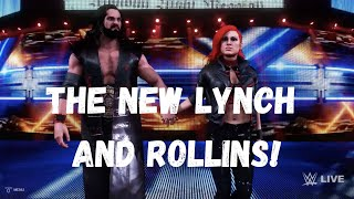 TheMan Games The New Man Becky Lynch and Seth Rollins Entrance WWE 2K20