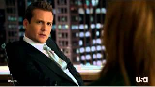 She made me make a fool out of him - Harvey Specter
