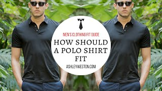 How Should Polo Shirt Fit