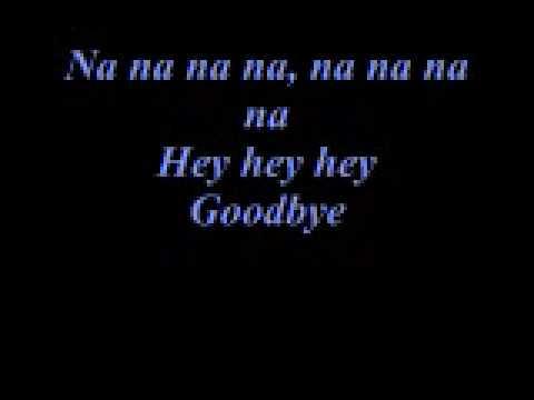 Kristina DeBarge Goodbye Lyrics
