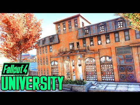 Fallout 4 - University Point OVERHAUL & SETTLEMENT! - Mod by Greekrage