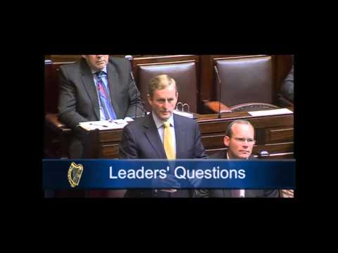 Leaders Questions on the G8 and the visit of the Obamas to Ireland (Home?)