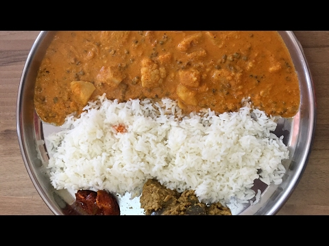 Mung Curry | Sprout Moong Curry | Green Gram Curry Mangalore Style