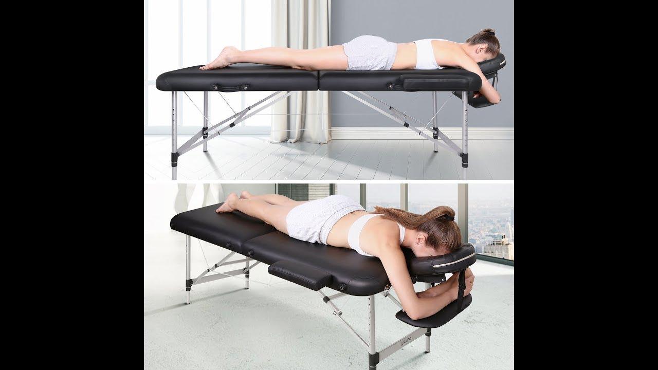 massageliege klappbar test